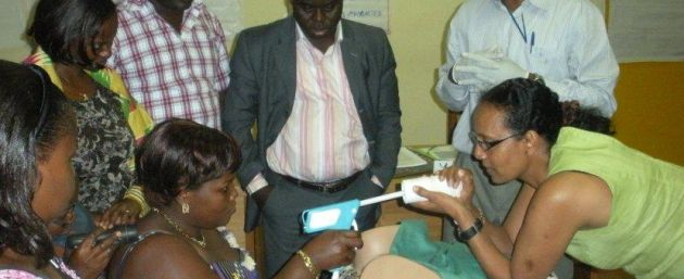 Training Providers on Cervical Cancer Screening
